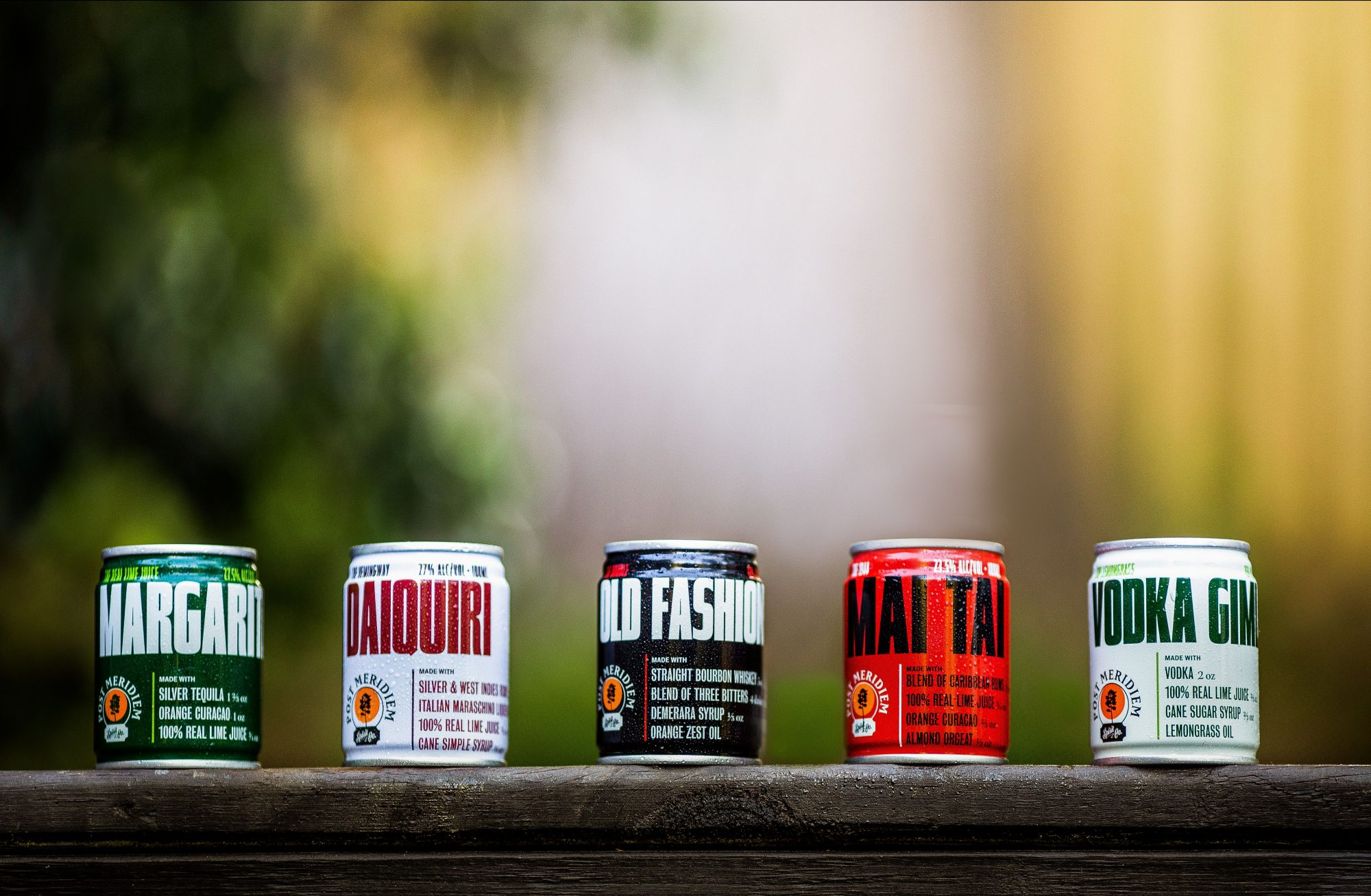 Post Meridiem Canned Cocktails