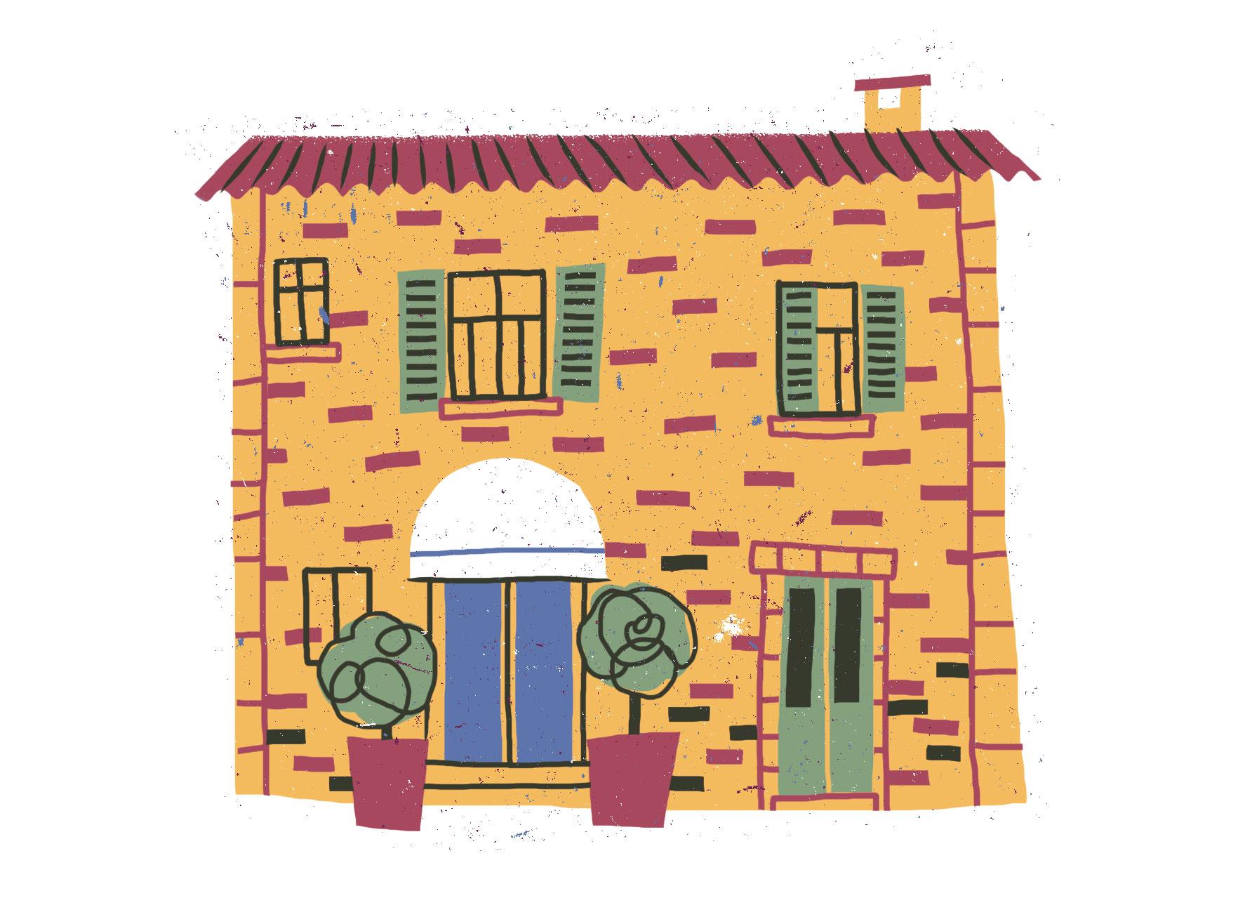 La Grotta Restaurant illustration
