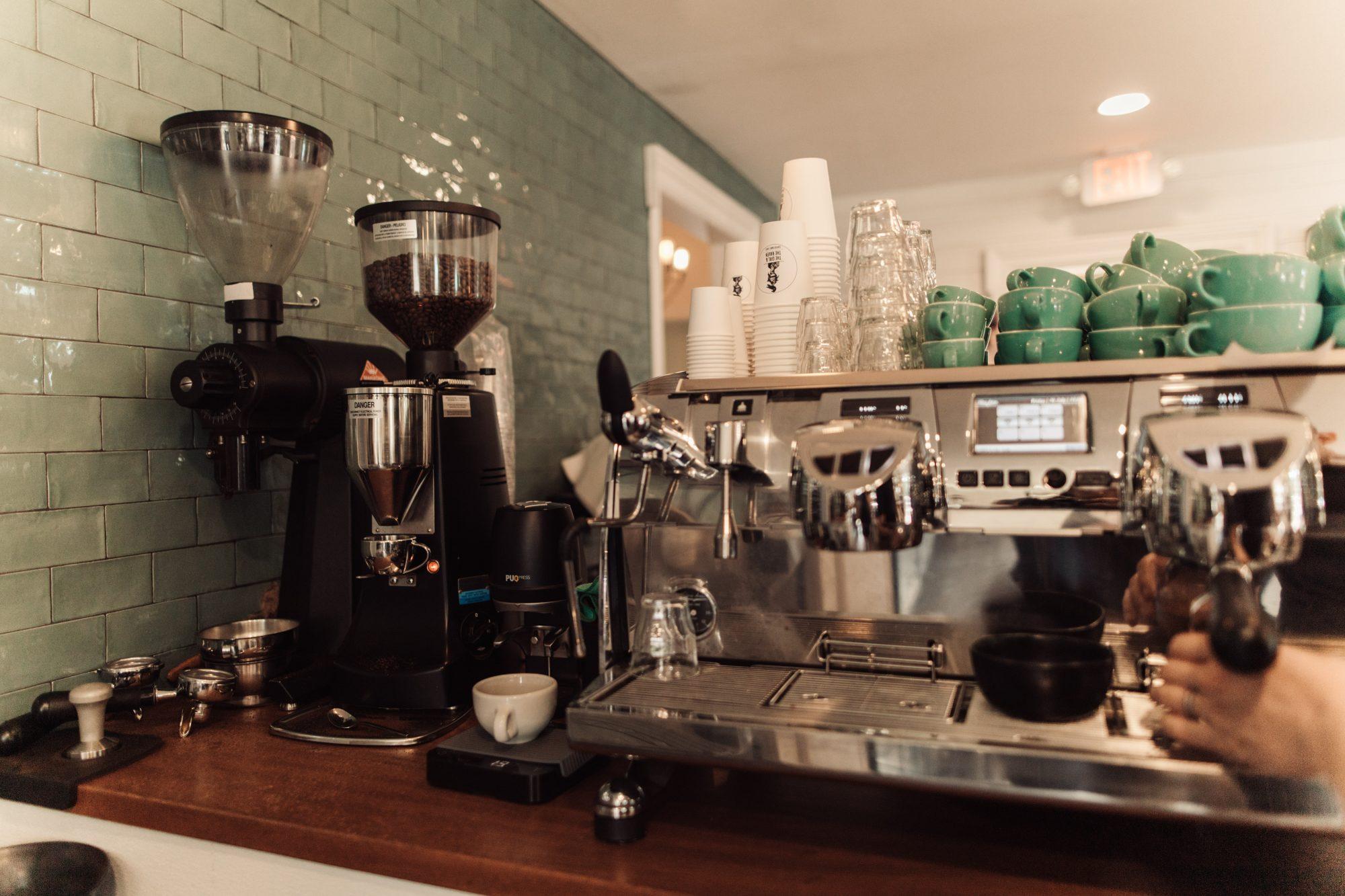 The Girl & The Raven coffee bar