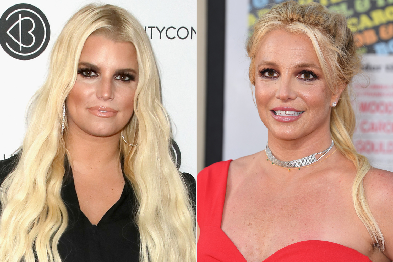 Jessica Simpson, Britney Spears