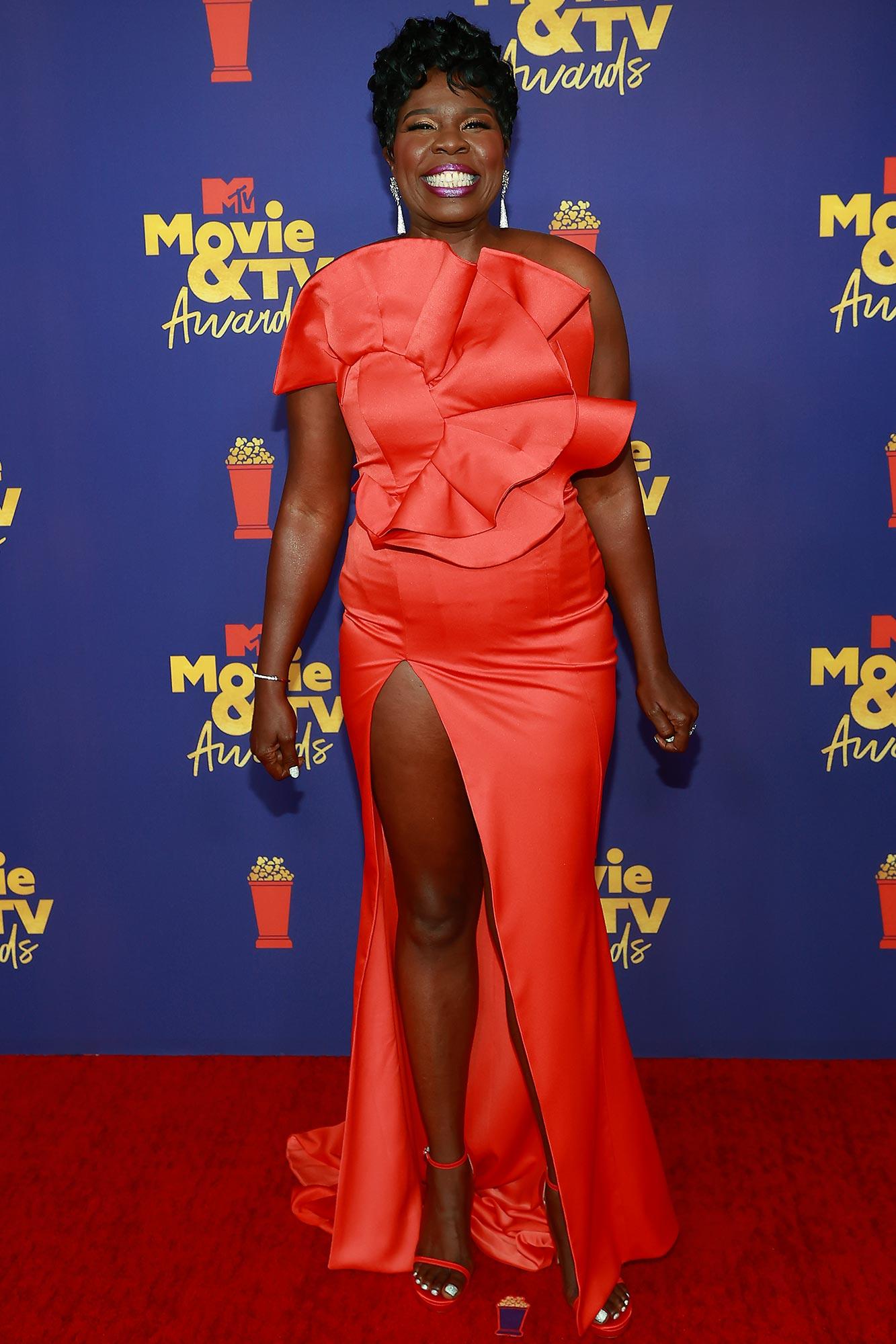 MTV Movie & TV Awards Leslie Jones