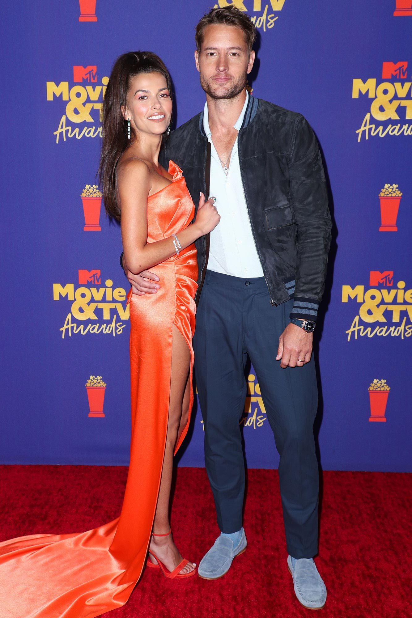 MTV Movie & TV Awards Sofia Pernas and Justin Hartley