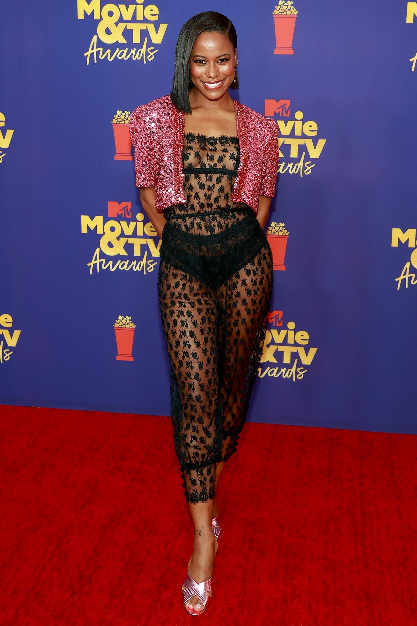 MTV Movie & TV Awards Taylour Paige
