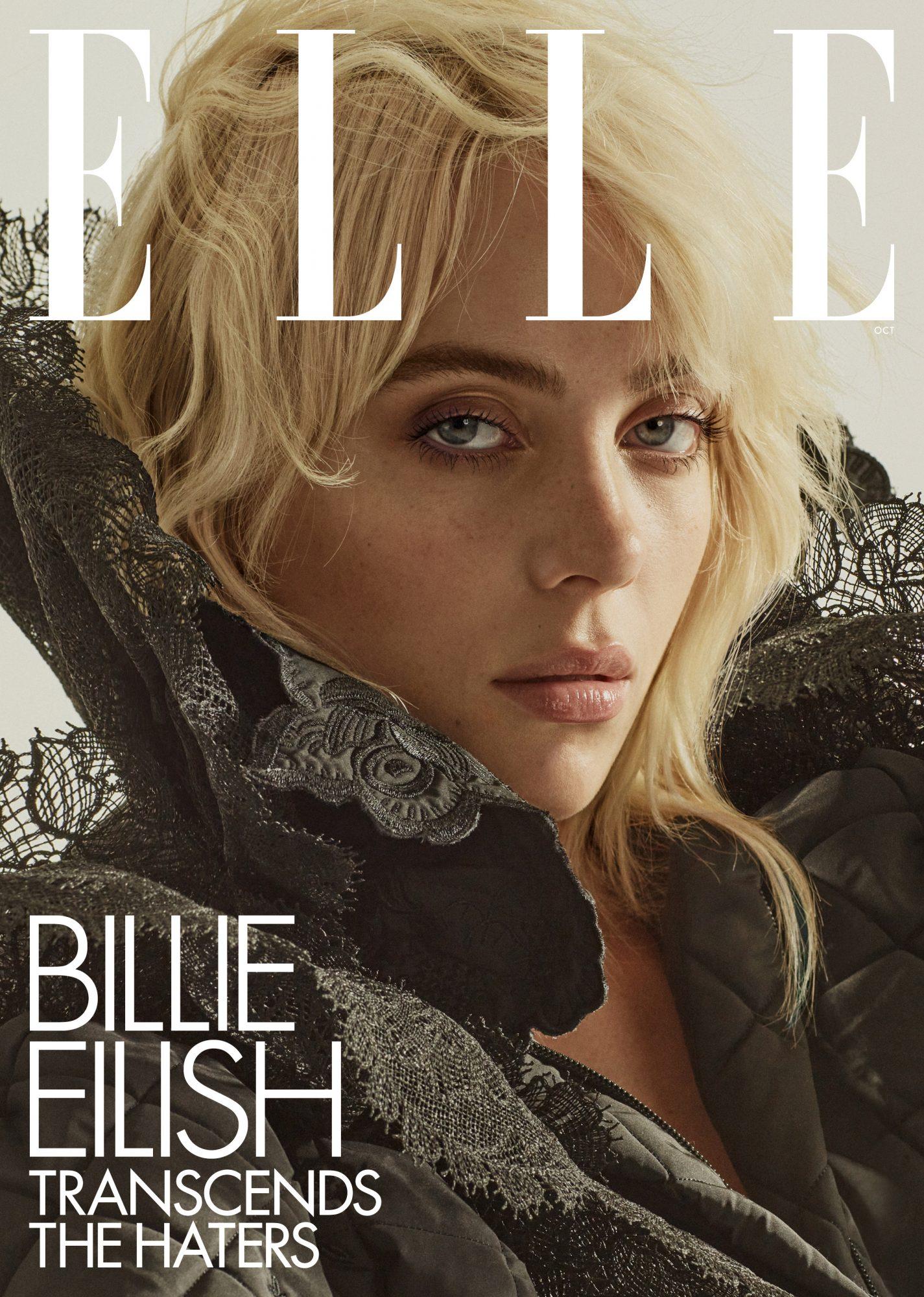 billie Eilish for elle