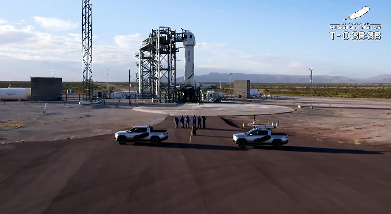 William Shatner's trip to space aboard Blue Origin's Rocket