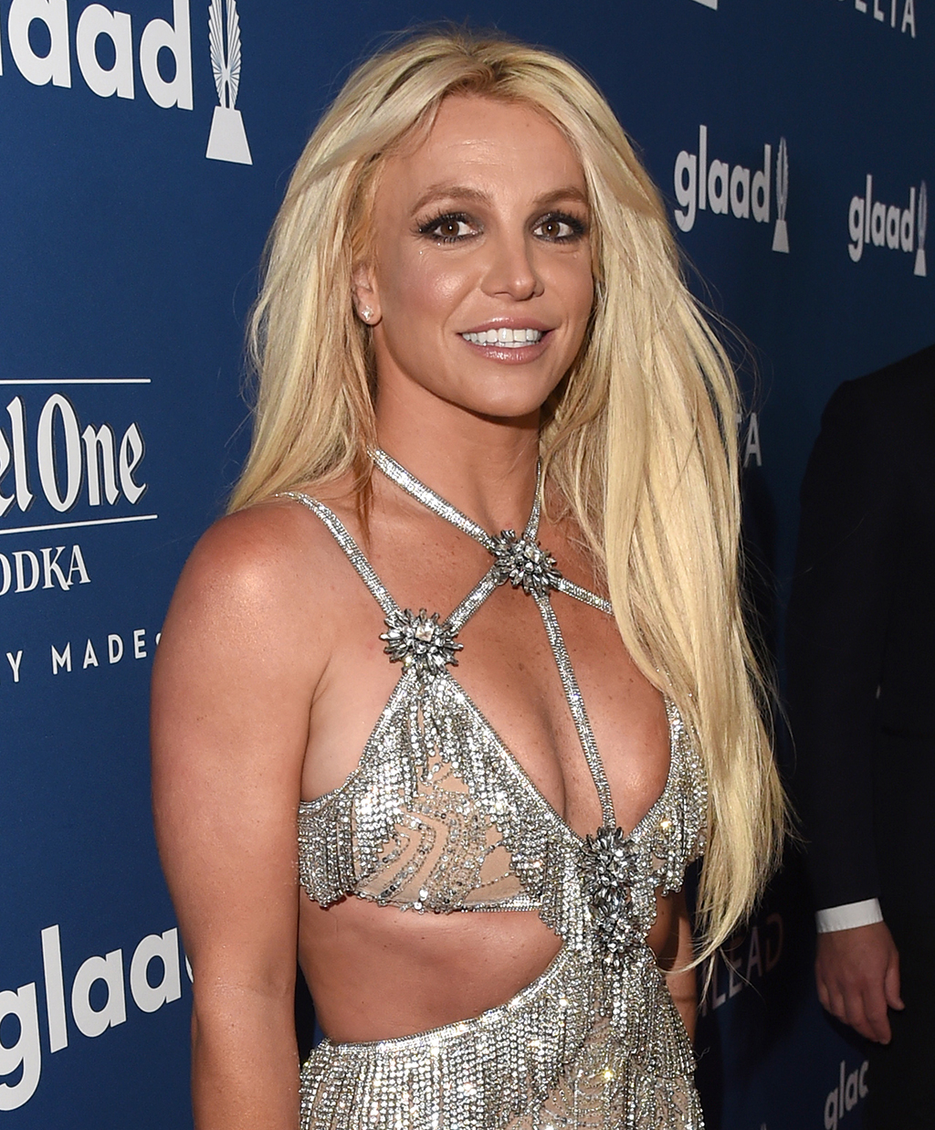 Honoree Britney Spears attends the 29th Annual GLAAD Media Awards at The Beverly Hilton Hotel on April 12, 2018 in Beverly Hills,