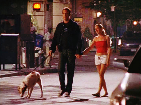 Sex and the City, Carrie, Aidan and his dog Pete