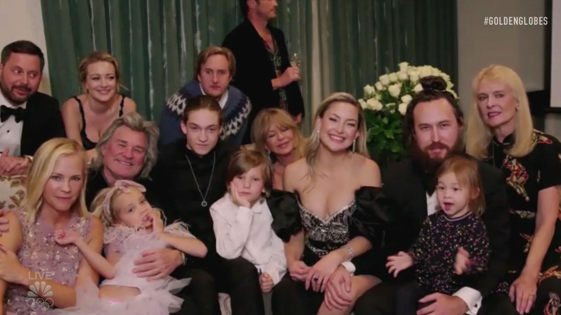 Kate Hudson family