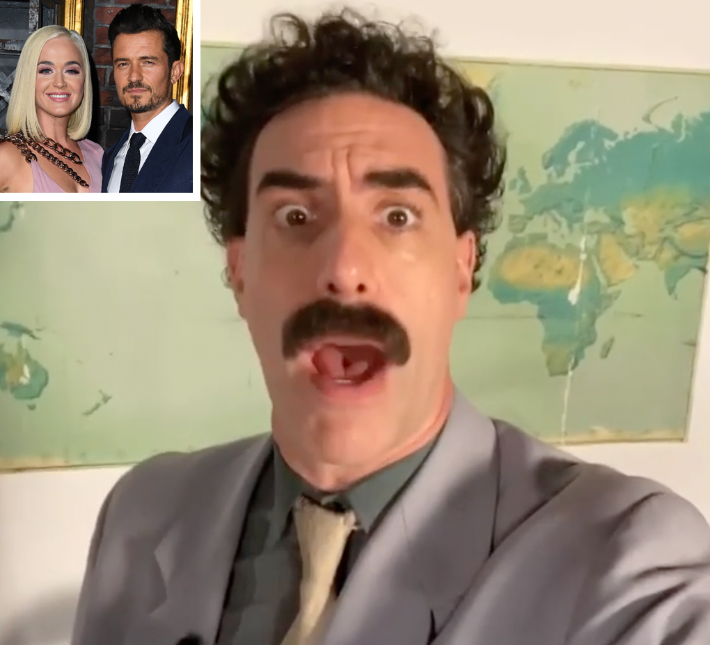 Borat Message for Katy Perry