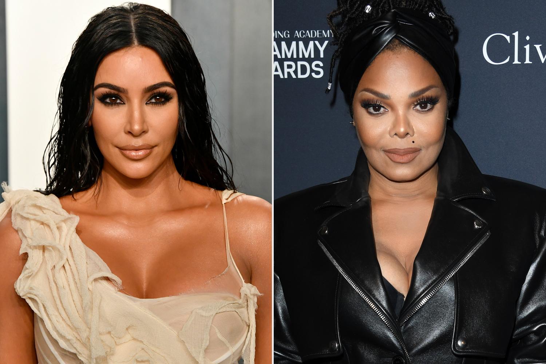 Kim Kardashian, Janet Jackson