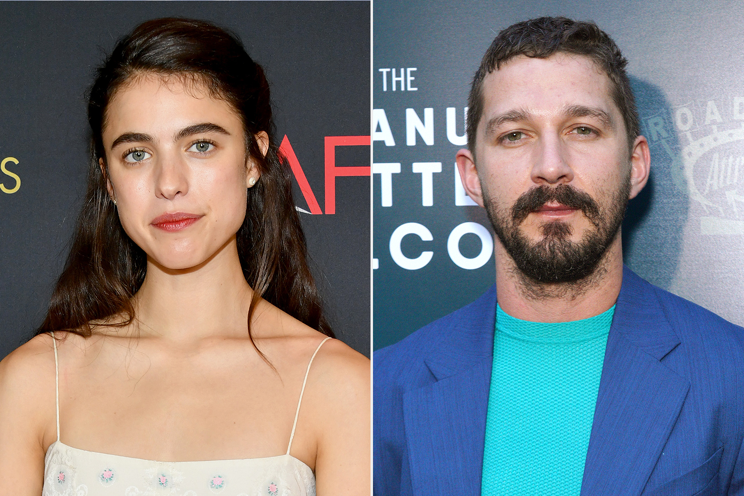 Margaret Qualley; Shia LaBeouf