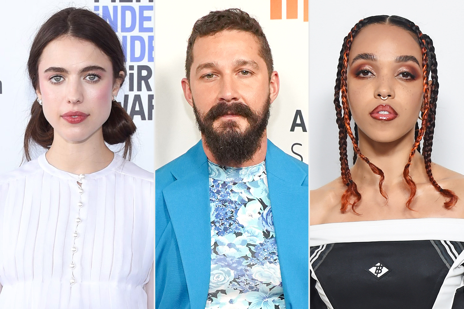 Margaret Qualley, Shia LeBeouf, FKA Twigs