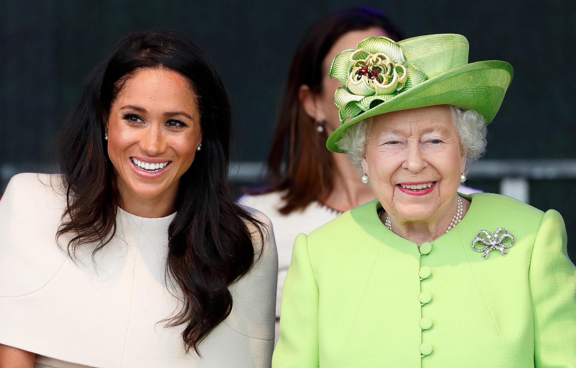 meghan markle, queen elizabeth