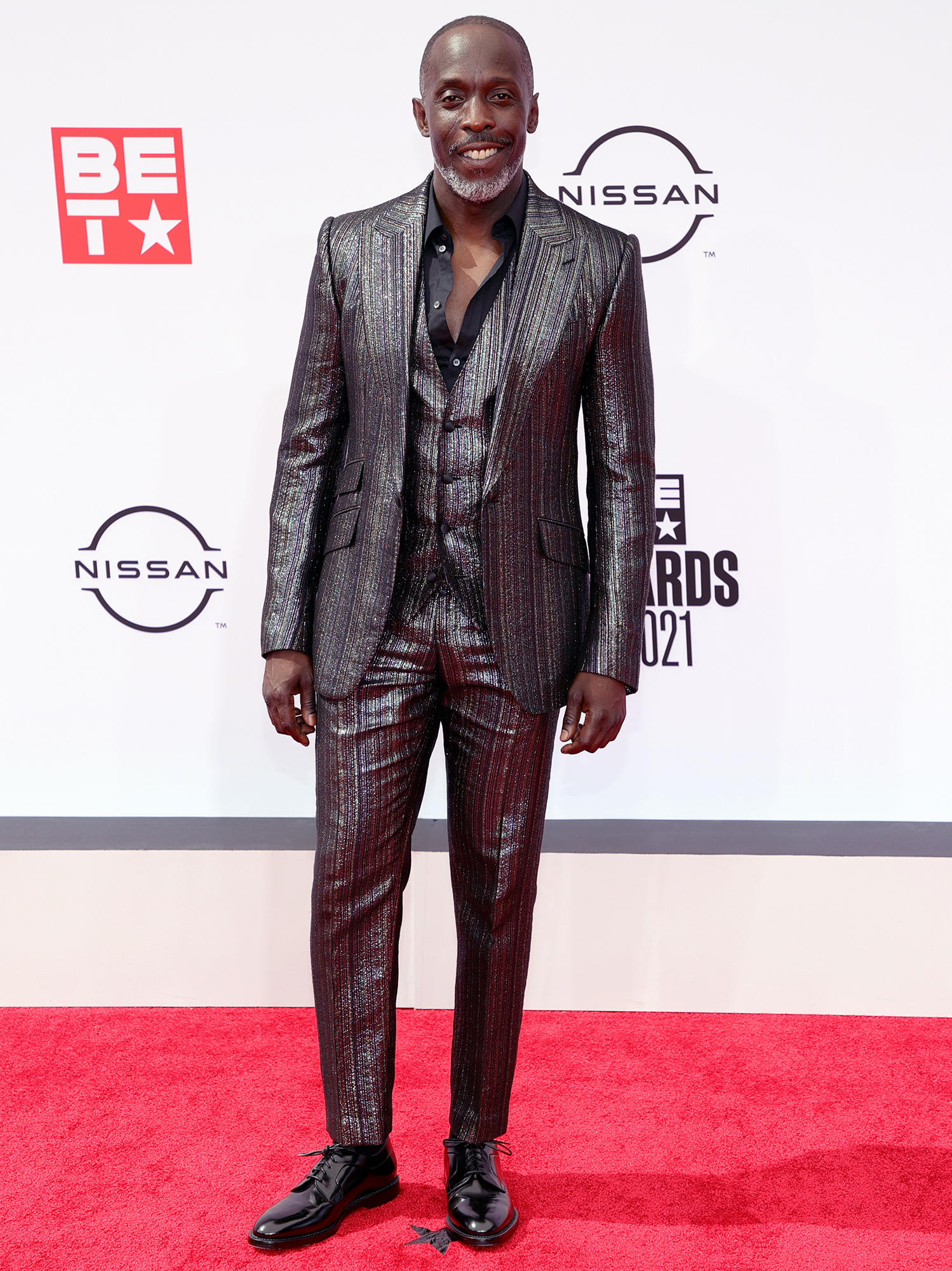 BET arrivals michael kenneth williams