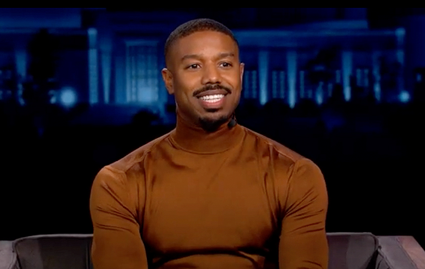 michael b jordan on jimmy kimmel