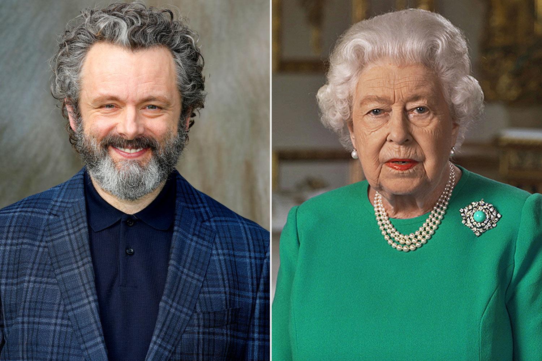Michael sheen and queen Elizabeth