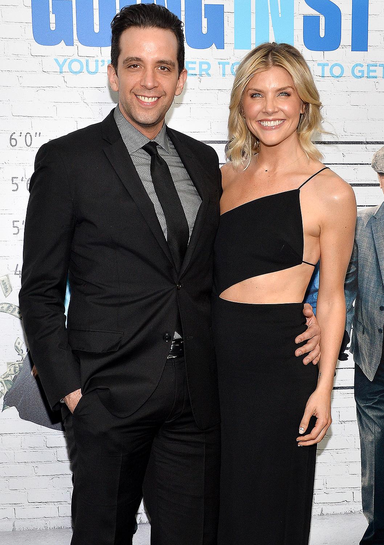 Nick Cordero (L) and Amanda Kloots