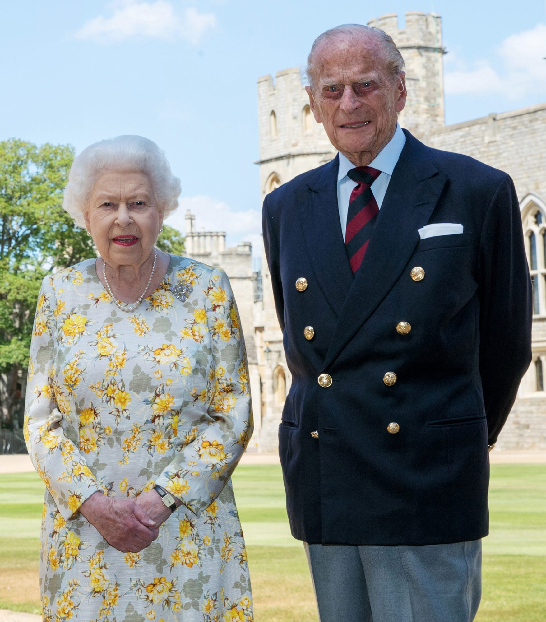 The Queen And The Duke Of Edinburgh Release A Photograph To Celebrate The Duke's 99th Birthday