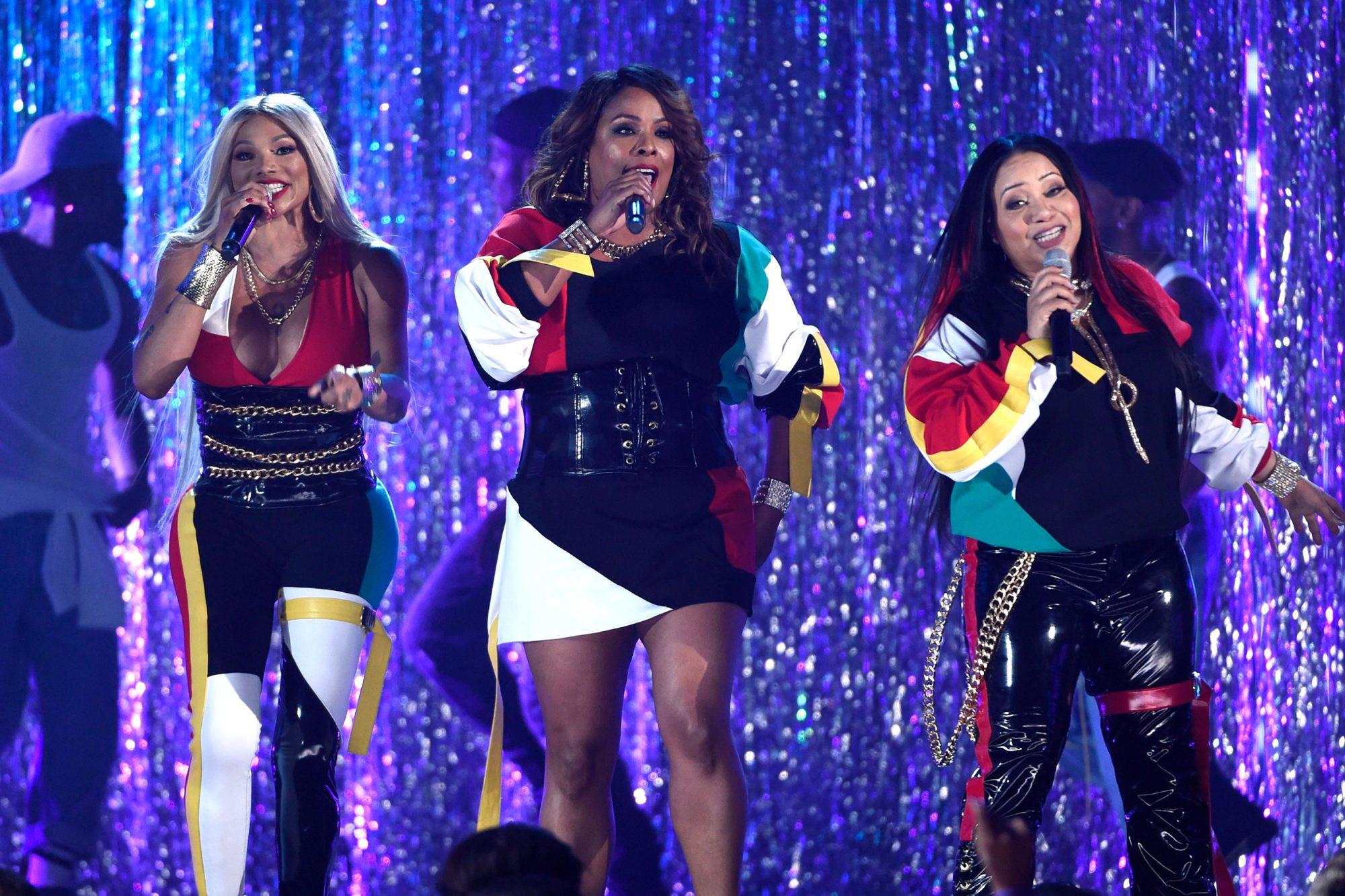 2018 Billboard Music Awards salt-n-pepa and spinderella