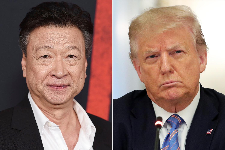 Tzi Ma, Donald Trump