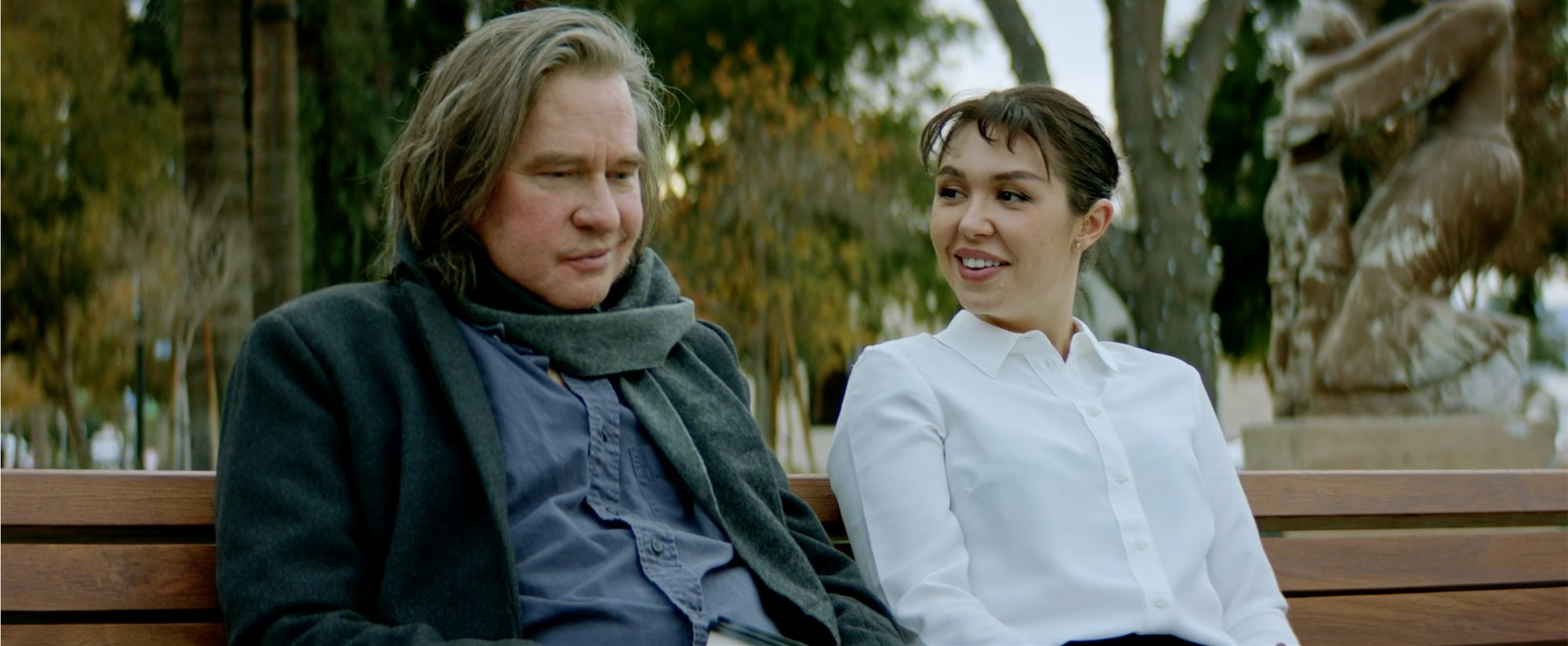 """Watch Val Kilmer Share a Sweet Moment with Real-Life Daughter Mercedes in Her Film Debut """"Paydirt"""""""