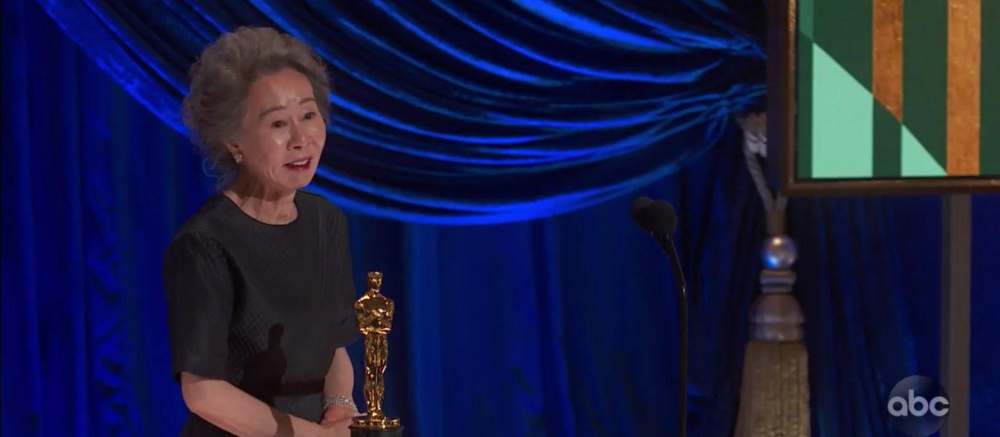 YUH-JUNG YOUN Minari Academy Awards