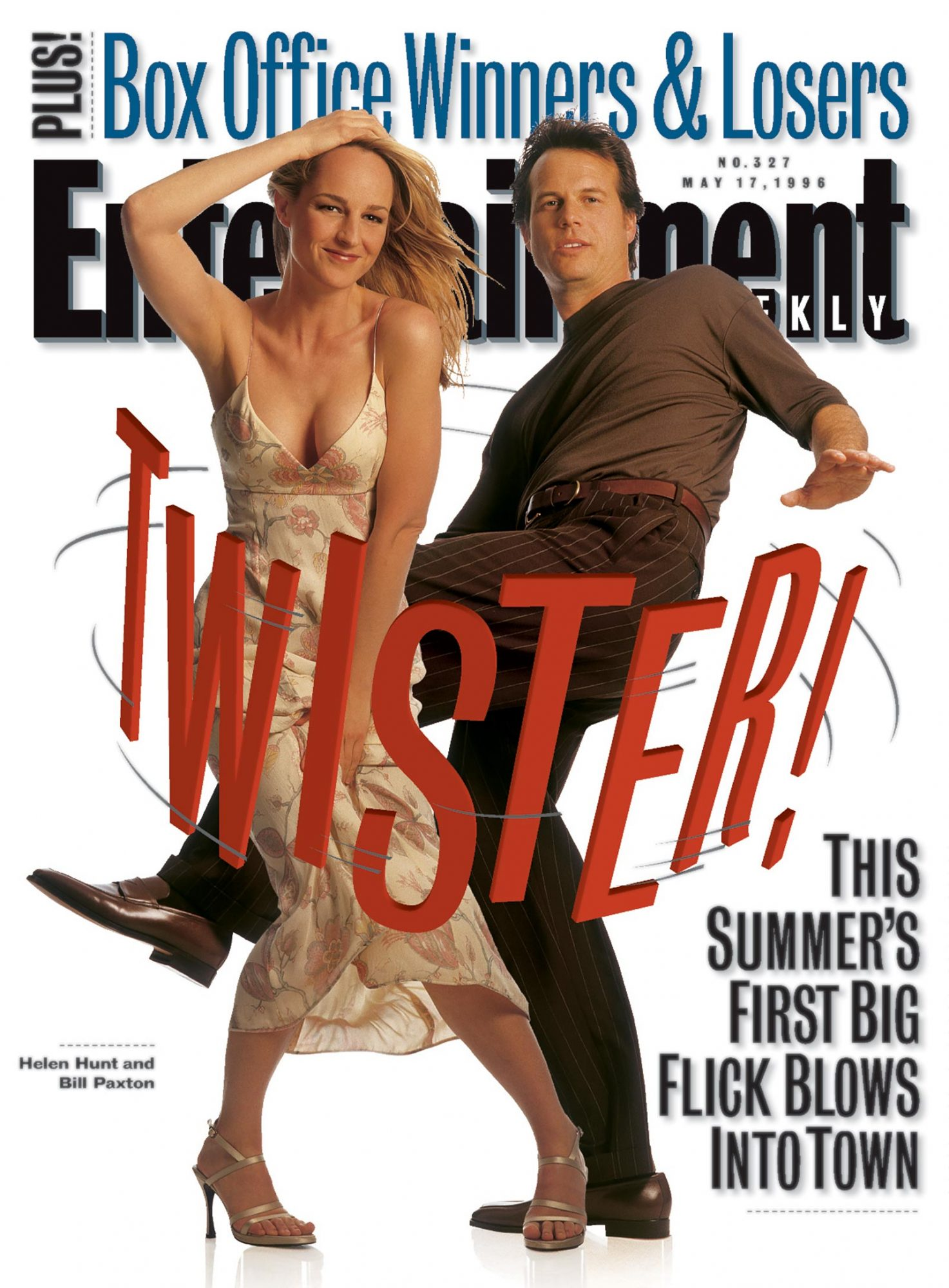 Entertainment WeeklyHelen HuntTwisterMay 17, 1996#327