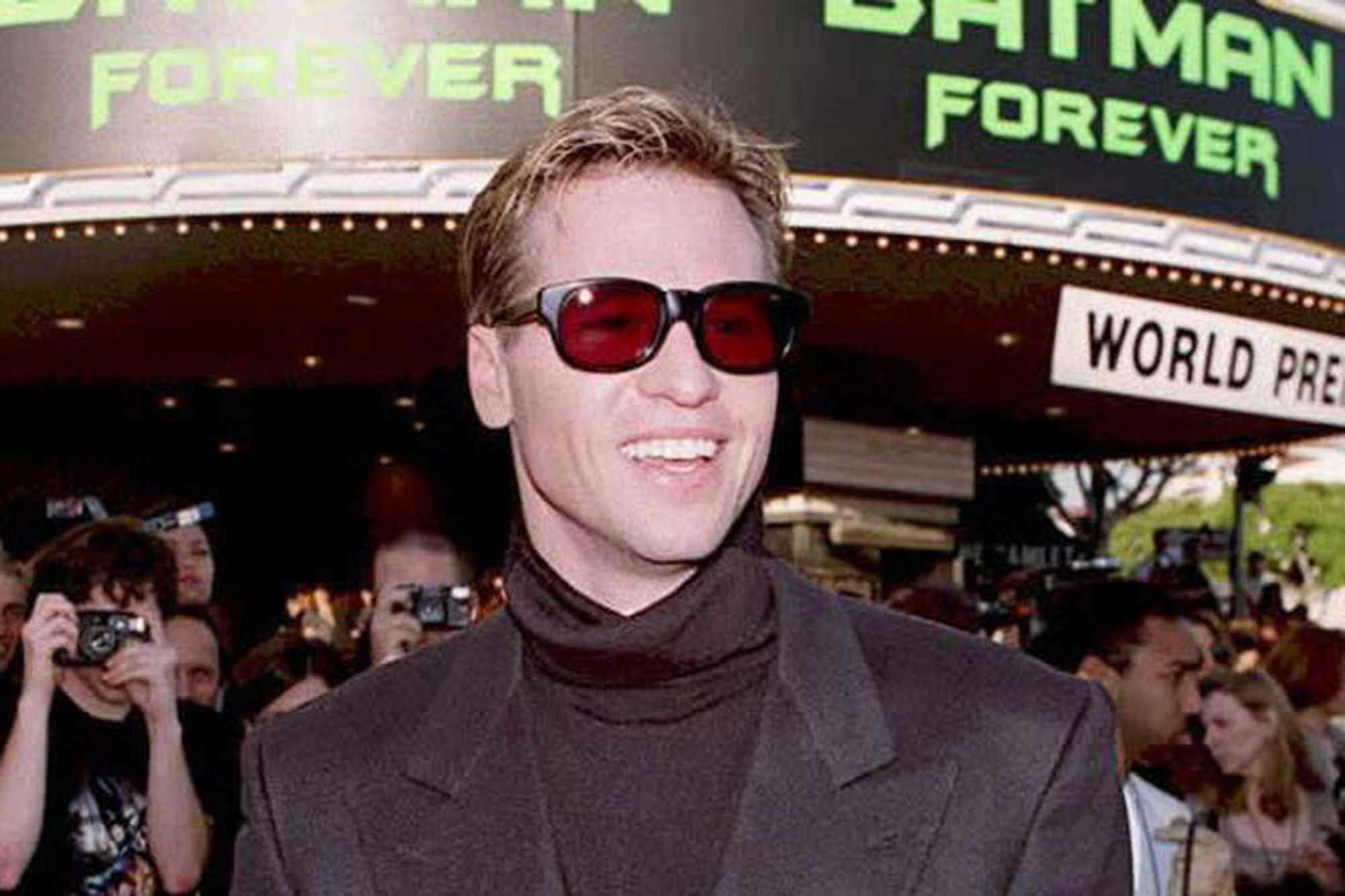 US actor Val Kilmer arrives at the world premiere