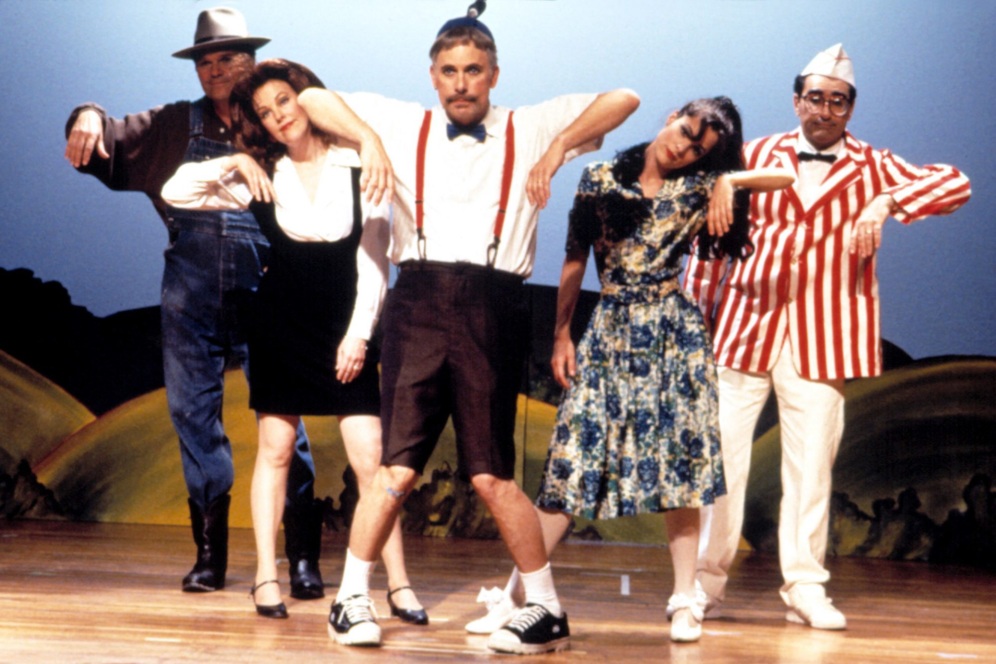 WAITING FOR GUFFMAN, Fred Willard, Catherine O'Hara, Christopher Guest, Parker Posey, Eugene Levy, 1
