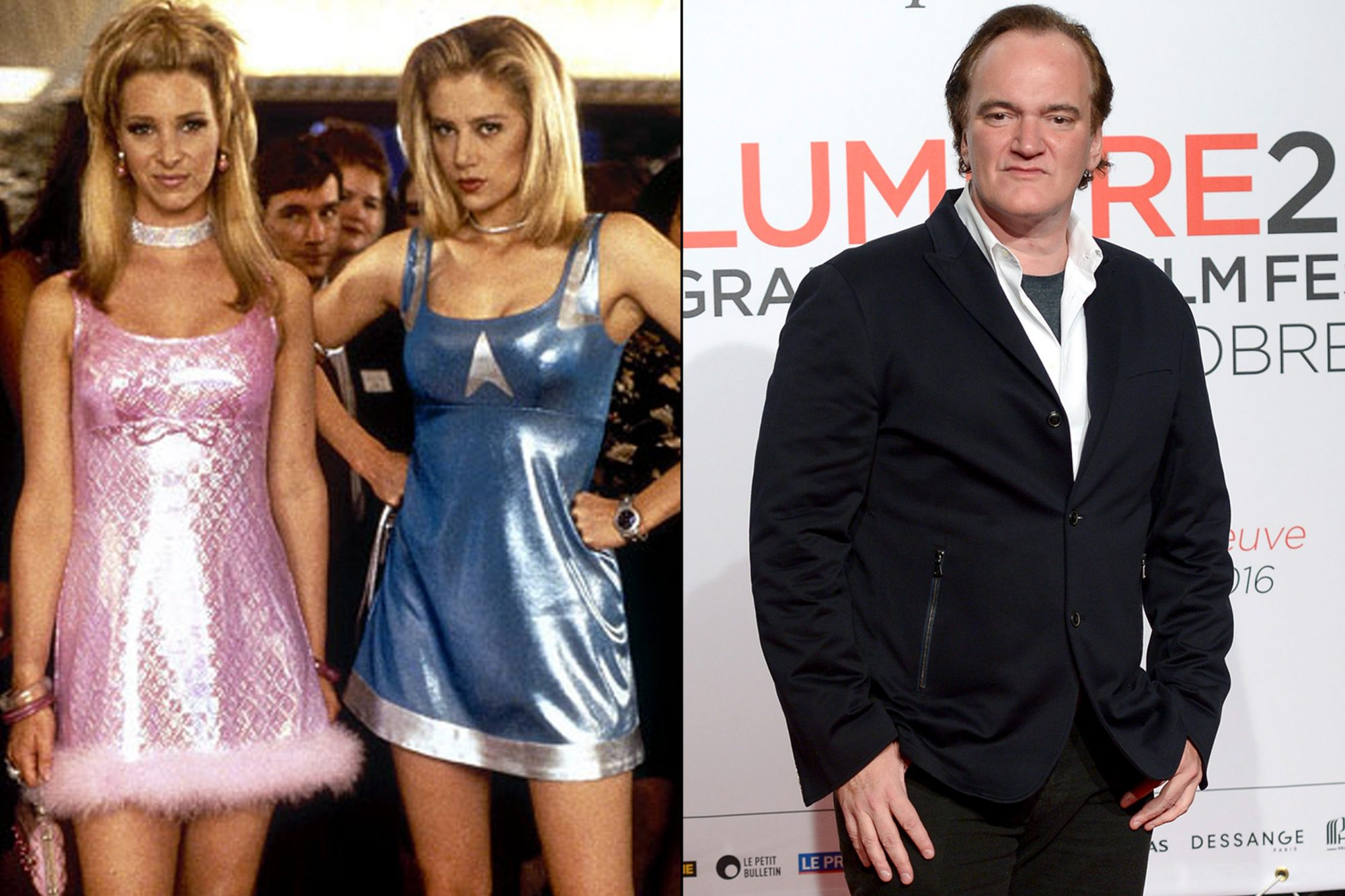 Romy and Michele and Quentin Tarantino