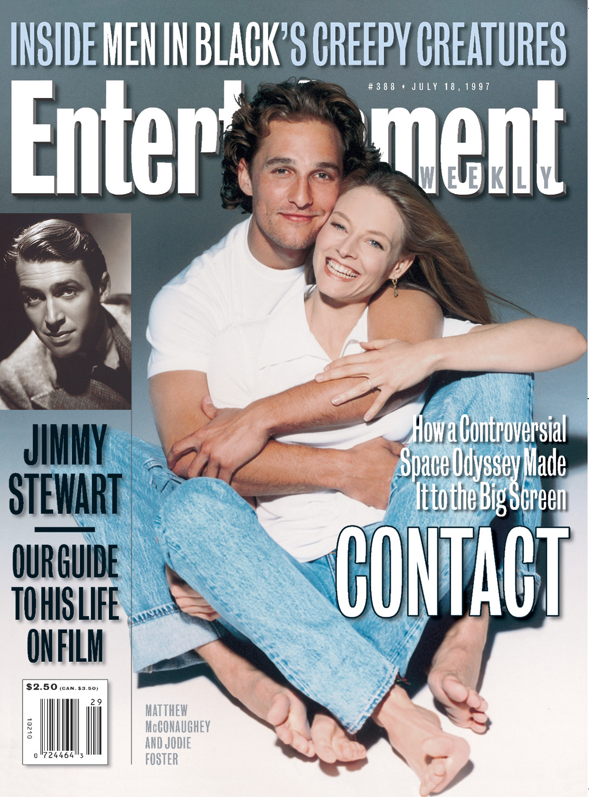 Entertainment WeeklyMatthew Mcconaughey, Jodie FosterJuly 18, 1997# 388