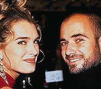 Andre Agassi, Brooke Shields, ...