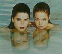 Neve Campbell, Denise Richards, ...