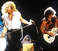 Jimmy Page, Robert Plant, ...