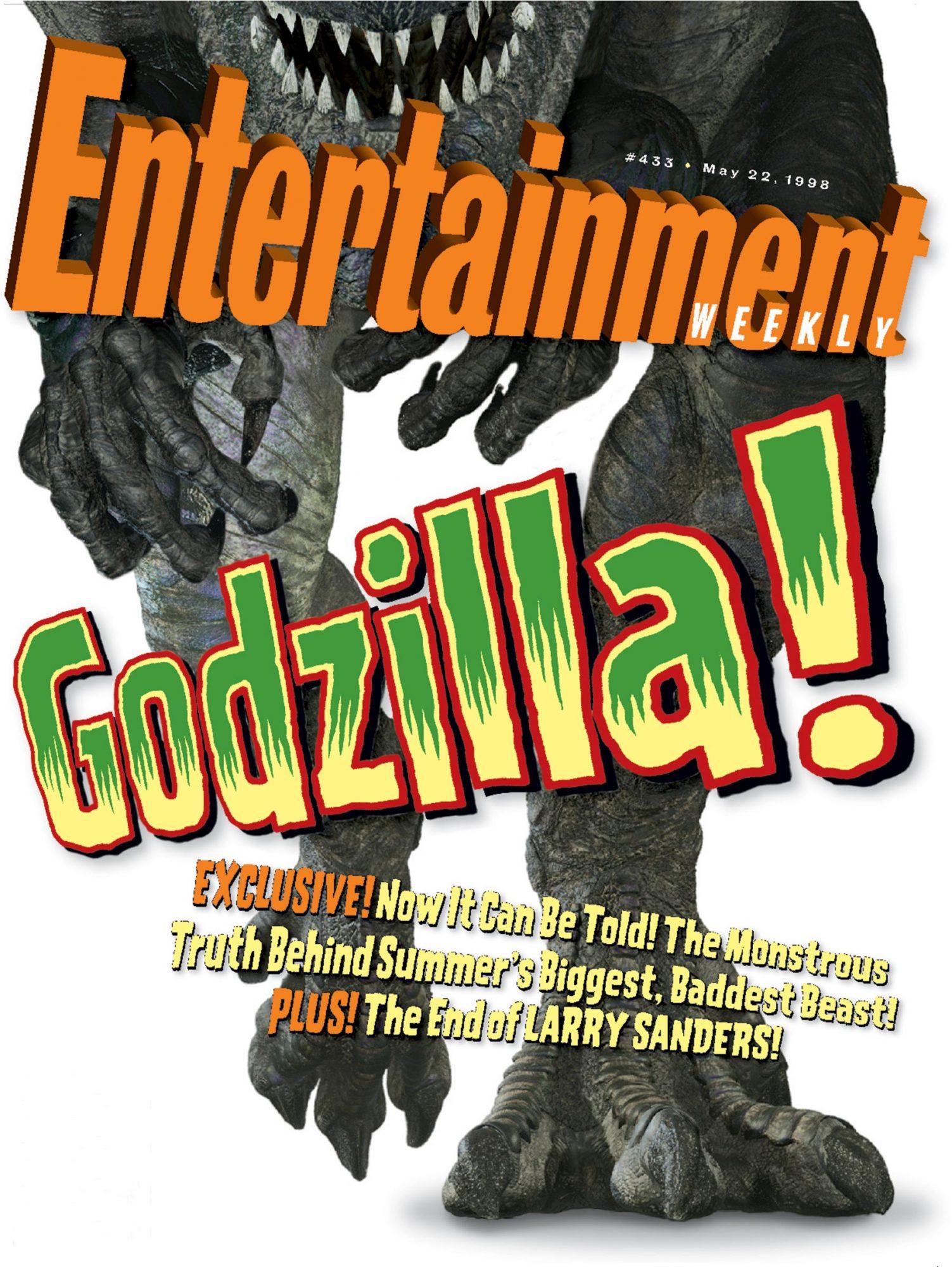 EW Cover 433 Godzilla 1998