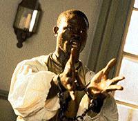 Djimon Hounsou, Amistad
