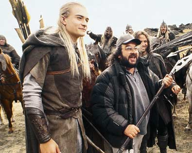Orlando Bloom, Peter Jackson, ...