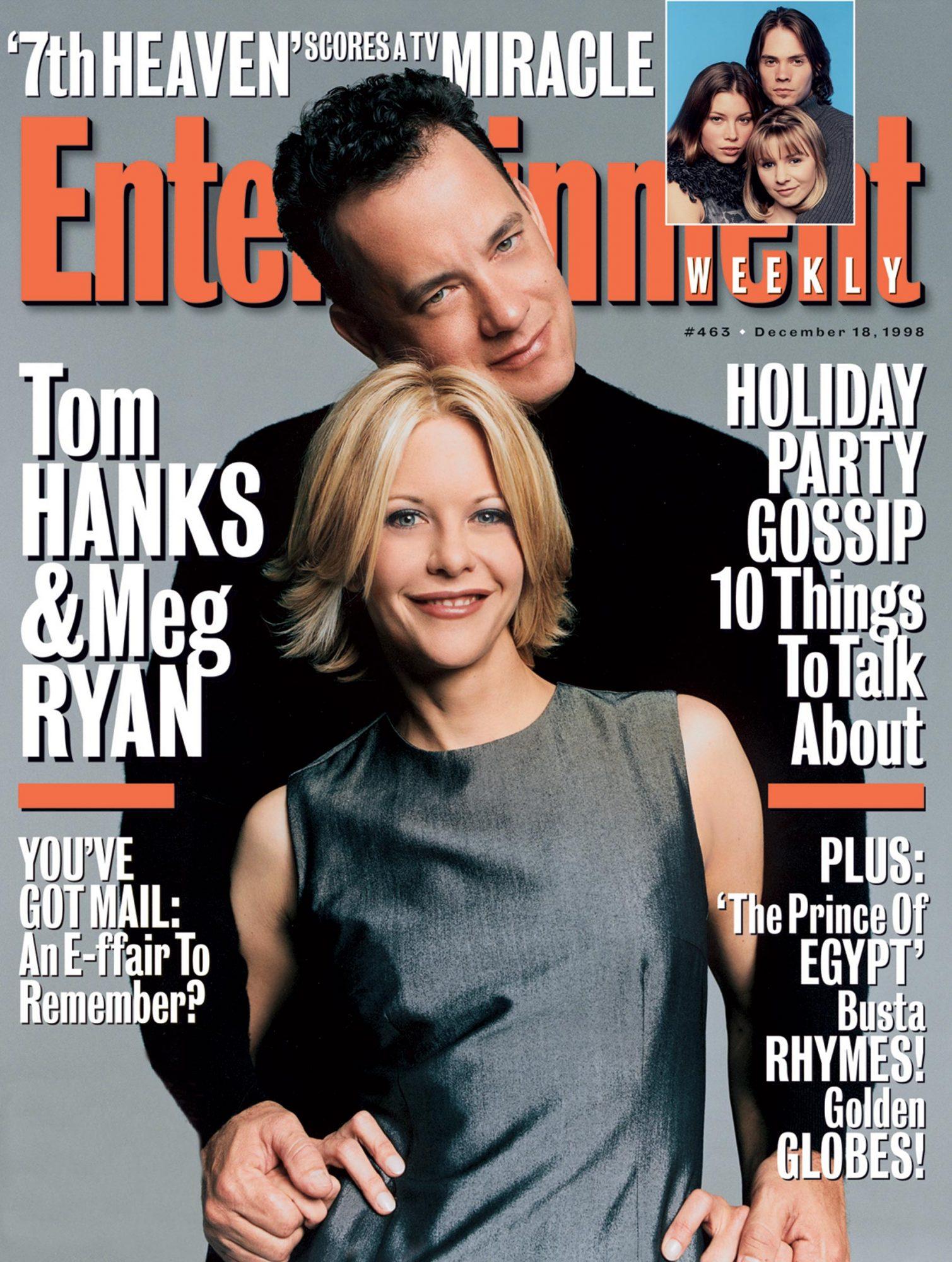 Entertainment WeeklyTom Hanks, Meg RyanDecember 18, 1998# 463