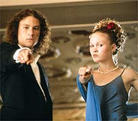 Heath Ledger, Julia Stiles, ...