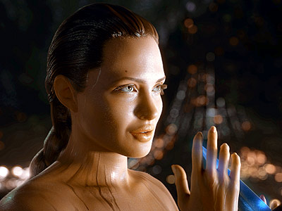Beowulf, Angelina Jolie | Beowulf (2007) Jolie has portrayed a mother (in Alexander ) and a seductress (in almost everything else), but with Robert Zemeckis' totally CG film, she…