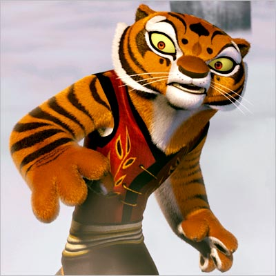 Kung Fu Panda, Angelina Jolie | Kung Fu Panda (2008) As Tigress, she was the deadliest of the Furious Five — a quintet of kung-fu heroes trained to defeat the villainous…