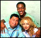 SOME REAL 'GROWN'ERS (clockwise from left) Dave Ruby, White, Ribisi star in the UPN's idea of a hit