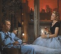 Grace Kelly, Jimmy Stewart, ...