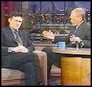 Gabriel Byrne, David Letterman, ...