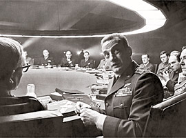 George C. Scott, Dr. Strangelove: Or, How I Learned to Stop Worrying and Love the Bomb