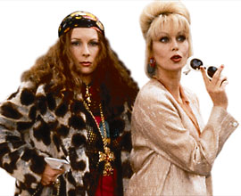 Joanna Lumley, Jennifer Saunders, ...