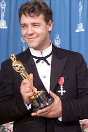 Russell Crowe, Oscars 2001
