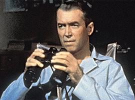 Jimmy Stewart, Rear Window (Movie - 1954)