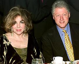 Bill Clinton, Elizabeth Taylor