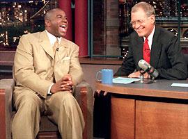 Magic Johnson, David Letterman, ...